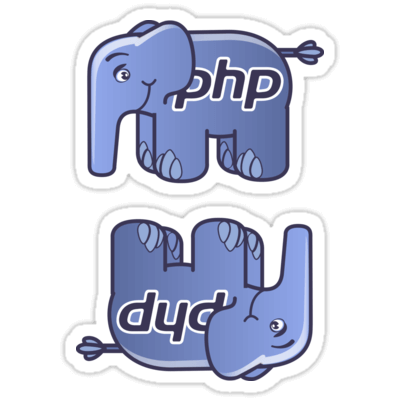 ElePHPant ×2 Sticker