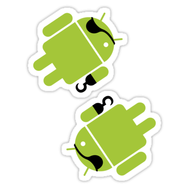 Android Pirate ×2 Sticker