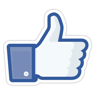 Facebook Like Thumbs Up Sticker