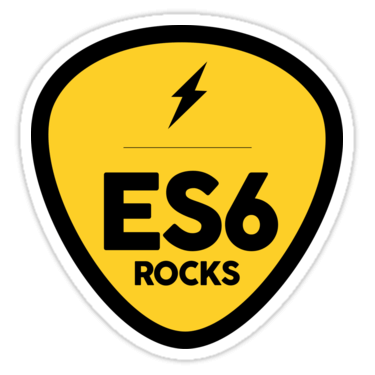 ES6 Rocks Sticker
