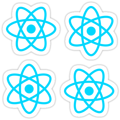 React.js ×4 Sticker