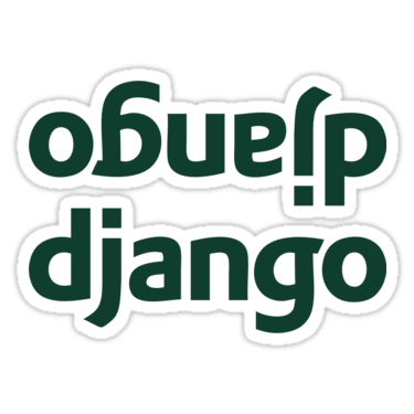 Django ×2 Sticker