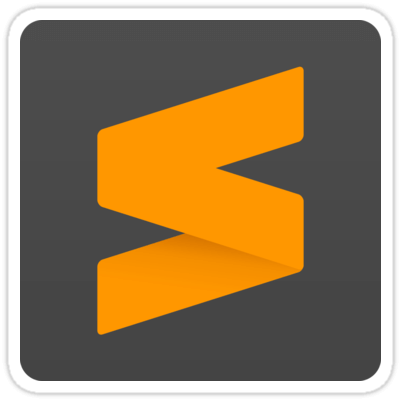 Sublime Text Sticker