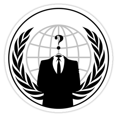 Anonymous Sticker