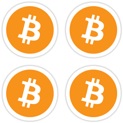 Bitcoin ×4 Sticker