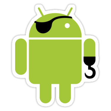 Android Pirate Sticker