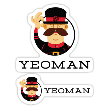 Yeoman ×2 Sticker