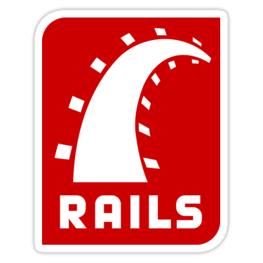 Ruby on Rails Sticker