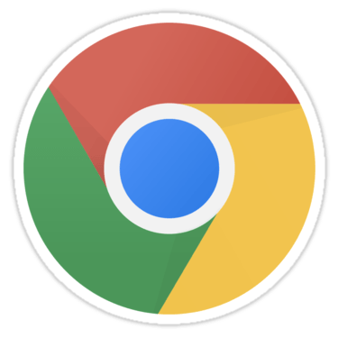 Chrome (Flat) Sticker