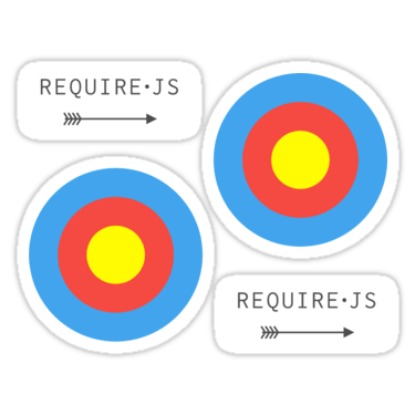 RequireJS ×2 Sticker