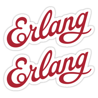 Erlang ×2 Sticker