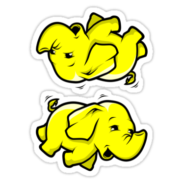 Hadoop ×2 Sticker