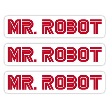 Mr  Robot Stickers and T-shirts — DevStickers