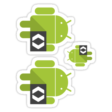 Android Developer ×3 Sticker
