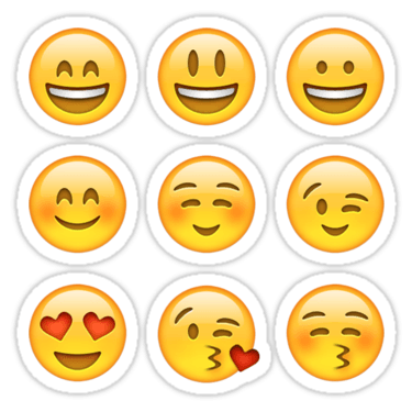 Smilies Emoji ×9 (Pack A) Sticker