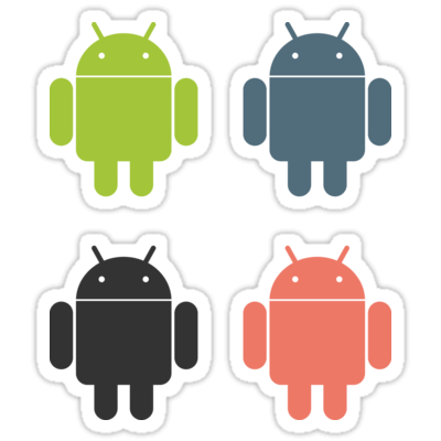 Android (Colors) ×4 Sticker