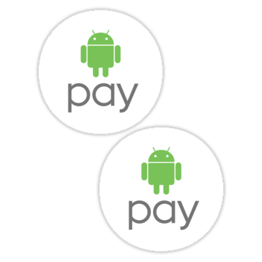 Android Pay ×2 Sticker