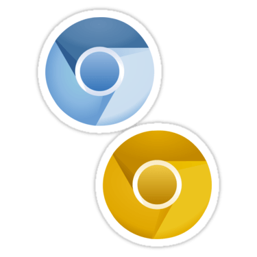Chromium + Canary Sticker