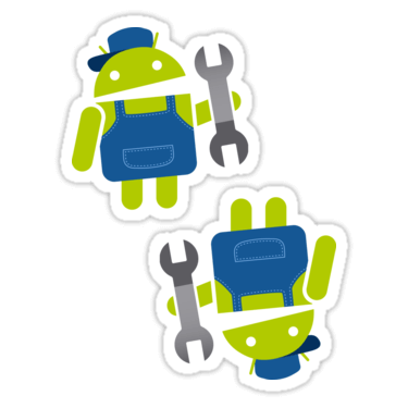 Android Developer ×2 Sticker