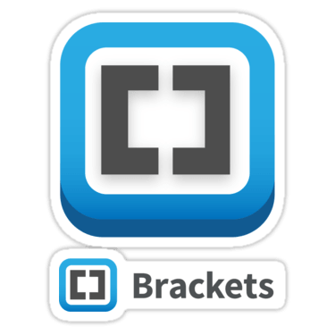 Brackets ×2 Sticker