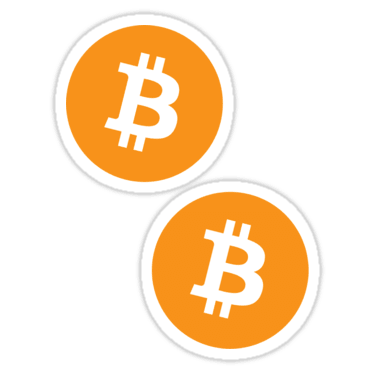 Bitcoin ×2 Sticker