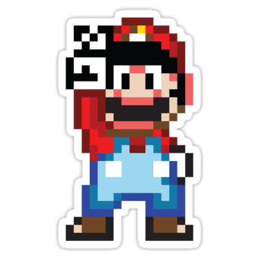 Mario Bros Stickers And T Shirts Devstickers