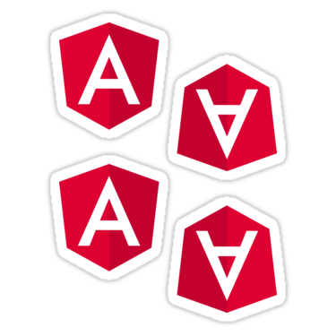 Angular 2 ×4 Sticker