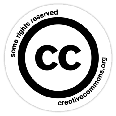 Creative Commons Sticker