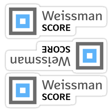Weissman Score ×3 Sticker