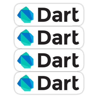 Dart ×4 Sticker