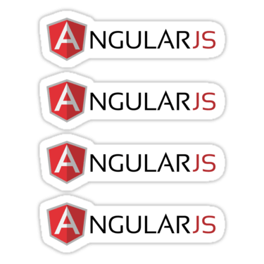 AngularJS ×4 Sticker