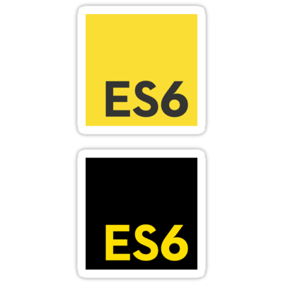 ES6 (Yellow and Black) ×2 Sticker