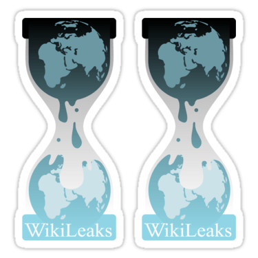 Wikileaks ×2 Sticker