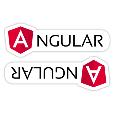 Angular 2 ×2 Sticker