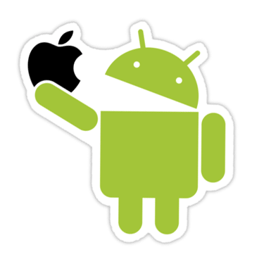 Android: An Apple A Day Sticker