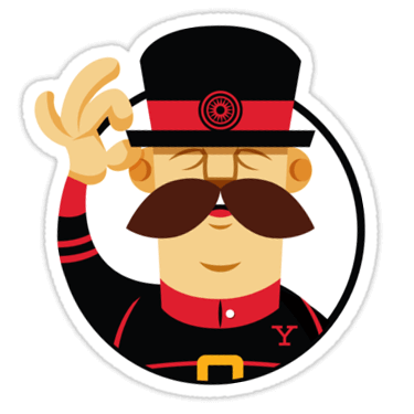 Yeoman Sticker