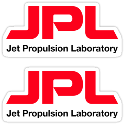 JPL (Jet Propulsion Laboratory) ×2 Sticker