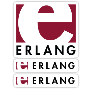 Erlang ×3 Sticker