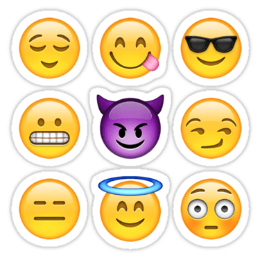 Smilies Emoji ×9 (Pack C) Sticker