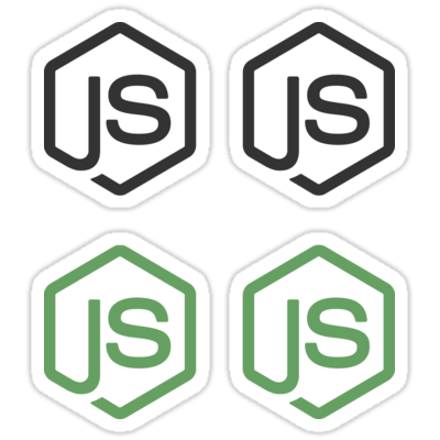 Node.js ×4 Sticker
