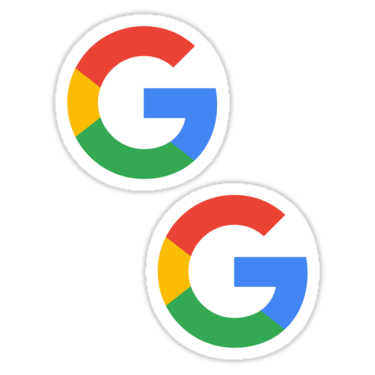 Google ×2 Sticker