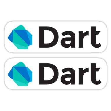 Dart ×2 Sticker