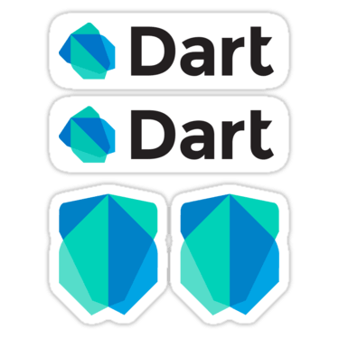 Dart stickers