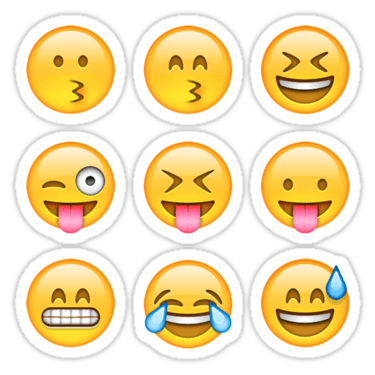 Smilies Emoji ×9 (Pack B) Sticker