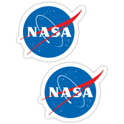 NASA ×2 Sticker