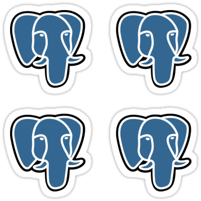 PostgreSQL ×4 Sticker