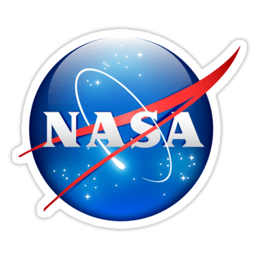 NASA 3D Sticker