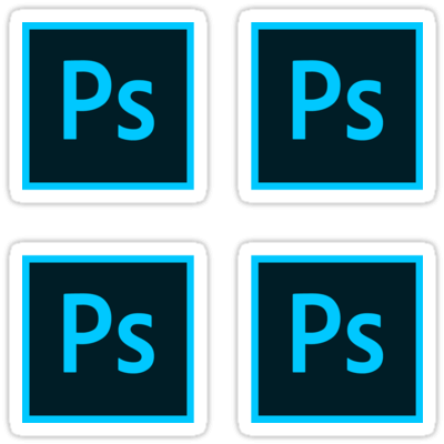 Adobe Photoshop CC ×4 Sticker