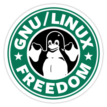 GNU/Linux Freedom Sticker