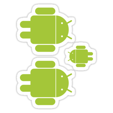 Android ×3 Sticker